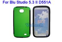 Single Bottom Design PC + TPU Case For BLU Studio 5.3 II 2 D551A Mobile Phone Back Cover Skin Protective case