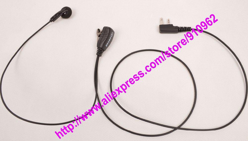 ICOM IC F10 F11 F12 F13 F14 F15 F16 2-Way Radio Earbud Earpiece Headset Earphone(China (Mainland))