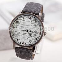 2014 Direct Selling Relojes Women Watches Vintage Quartz Watch World Design Wristwatches Women Relogio Feminino Fashion Hours