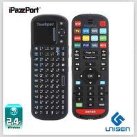 iPazzPort  Russian Wireless Mini Keyboard Google Remote And Smart TV  keyboard