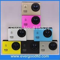 Original !Fast Shipping 1080P Full HD Video SJ4000 30M Waterproof Sport Helmet Action Camera 1200W Pixel Support AV Output