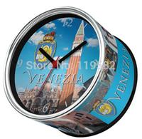 European Italy Venezia City Design Kitchen Fridge Magnets Cheap Wall Clocks Free Shipping