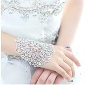 Fashion New Items!Rhinestone Married Hand Bracelet Wedding Jewelry Accessories Armlet Chain