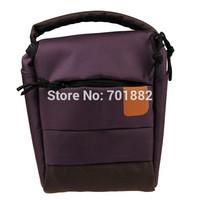 EU SALES PURPLE Digital Camera Bag Universal Case Holder for Powershot Camera Free Tracking Number