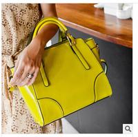 """The new 2014 high quality leather handbag designer bags Mr Bill of lading shoulder inclined shoulder bag """"women handbag fashion"""