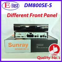 full hd media player DM800se Satellite Receiver dm 800hd se Bootloader84 SIM2.10 BCM4505 Tuner DM 800se Free Shipping