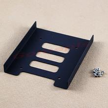 """G104Free envío de la nueva de 2,5 """" SSD HDD Para 3.5 """" metálica de montaje Adaptador de soporte de muelle para PC SSD Holder(China (Mainland))"""