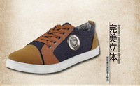 2014 Korean version of the trend line of the British men's shoes spring student sports shoes breathable shoes