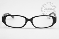 2013 New Design Promotional HMC Reading Glasses 1PCS Free Shipping Black Colors 21G for Each One From +100 Degree To +400 Q0002