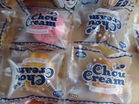 30pcs/lots 10cm Chou cream soft bread  squishy in original packaging .