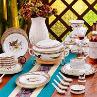 Bowl set ceramics quality fashion 56 dinnerware set bone china dishes