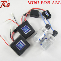 Good quality AC 12V 35W Mini All In One HID Kit Headlight H1 H3 H7 880 881 Xenon Lamps Bulbs Easy Installation