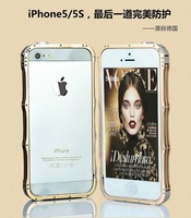 2014 hot selling Luxury Aluminum Metal Frame new bumper For iphone 5 5s  free shipping