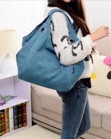 Shoulder Bag 2014 Hot Sale New Arrival Hot Sale Sweet Charming Free Shipping Casual Canvas Bag Shoulder Handbag For Women