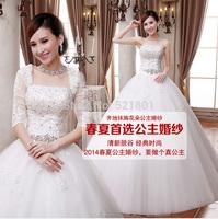 wedding dresses 2014 The new fashion strapless lace wedding dress vestido de noiva bridal gown robe de mariage vestidos 385