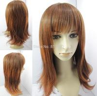 2014 New Style High Quality Beutitful Body Silk Top Synthetic Brazilian Glueless Cosplay Wigs /AJ-1017