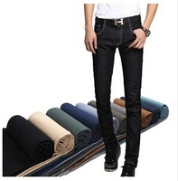 2014 autumn Men fashion leisure candy colors  jean pants Hot sale Free shipping