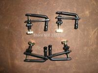 100 PCs  black & gold color Round Violin String Adjuster 3/4-4/4 004#