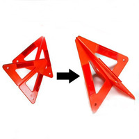 Automobiles & Motorcycles Roadway Safety Warning Triangles Warning signs Reflective type Stitching / assembly / stand