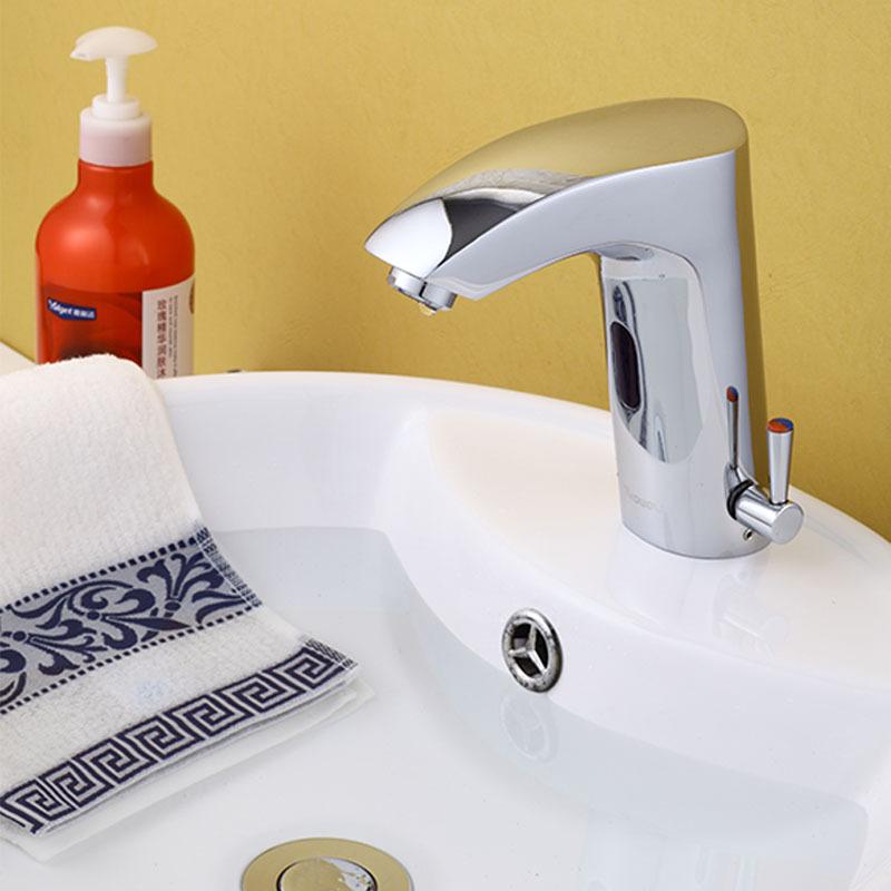 Hacer Del Baño Moco Amarillo:Automatic Sensor Faucets