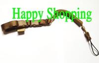 Multi-Purpose Rope elasticity pistol Mini-Coil lanyard safe carrying sling loop Tan