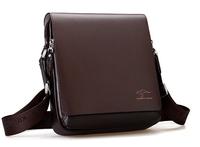 Men messenger bags promotion genuine Kangaroo leather shoulder bag man Crossbody bag casual ipad briefcase, free shipping