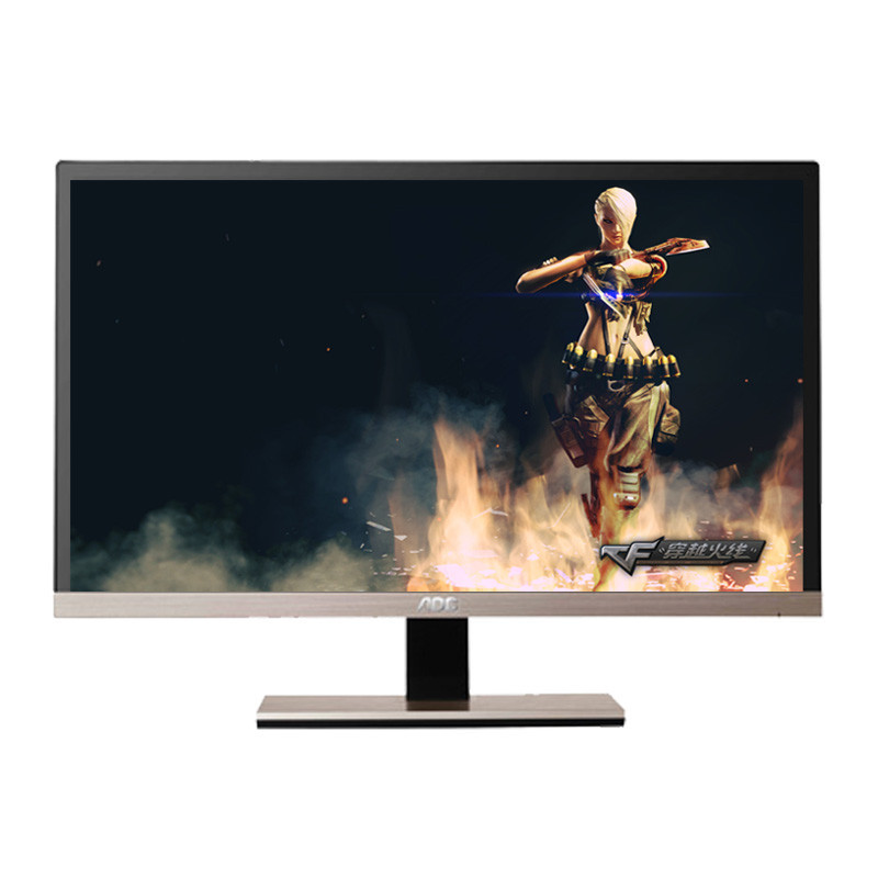 AOC IPS 21.5 -inch ultra-thin high-definition entertainment game wide viewing angle LCD monitor brand design computer 22(China (Mainland))