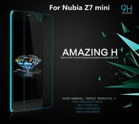 Nillkin Amazing H Nanometer Anti-Explosion Tempered Glass screen protector For ZTE Nubia Z7 mini with Retail Box