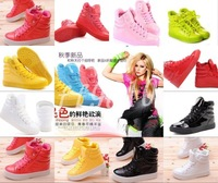 Women's High fashion Candy cute sweet color Hip-hop sport shoes boots Sneakers