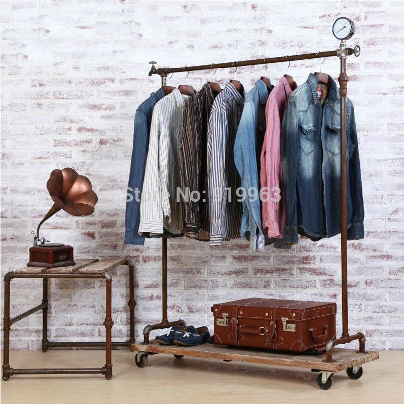 Buy vintage clothing display rack - Portant vetement design ...