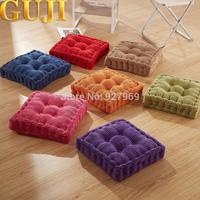There corduroy tatami mat plus size thickening plush cushion dining chair cushion