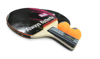 Original Butterfly table tennis racket TBC-200 TBC200 TIIF complete product with 2 balls Japanese Quality Top brand Yuki rubbers