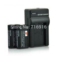 2x CR-V3 CRV3 LB01 Battery +Charger for Olympus SP-500UZ SP-350 D565 C-5050 C-55