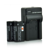 2x CR-V3 CRV3 LB01 Battery +Charger for Olympus SP-500UZ SP-350 D565 C-5050 C-55