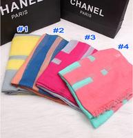 WOMEN'S printe stripe plaid viscose popular shawls long high quality voile head hijab muslim scarves/scarf 10pcs/lot