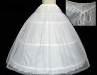 The Spot Hot sale 50% off 3 HOOP Ball Gown BONE FULL CRINOLINE PETTICOAT WEDDING SKIRT SLIP NEW