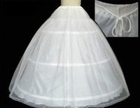The Spot Hot sale 50% off 3 HOOP Ball Gown BONE FULL CRINOLINE PETTICOAT WEDDING SKIRT SLIP NEW