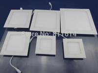 3W 4W 6W 9W 12W 15W 25W AC85~265V Cold white/warm white LED Ceiling LED Downlights Square LED Panel Lights Bulb SMD3528