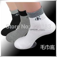 2014 Winter Fashion Brands thick towel socks men socks thick towel bottom