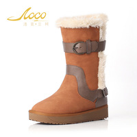 wholesale Australia Classic Brand Buckle Snow Boots Women's Real Leather Winter Classic Short Shoes snow boots