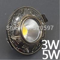 20pcs/lot  3W Europe COB ceiling lights  85~100LM/W AC85~265V wholesale diameter 100cm cut size 70-75cm wholesale