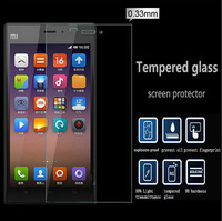 HOT sell 2.5d 0.3mm Premium Tempered Glass Screen Protector for Xiaomi 3 mi3 m3 Screen Protective Film with Retail Packaging