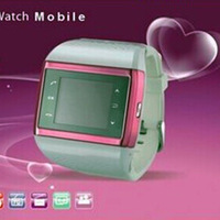 Q1- 02A mobile phone (watch), the number keys - with a stylish watch phone