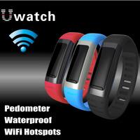 2014 New Waterproof  Bluetooth U9 Smartwatch Sync Handsfree For iphone 5 5C 5S Samsung HTC LG Sony Multi Language Wifi Hotspots
