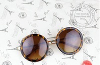 2014 vintage fashionable sunglasses women round 100% UV400 sunglasses sunglasses q0009