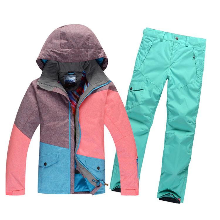 Womens Snowboard Jacket And Pants Snowboard Ski Jacket Pants