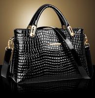 2015 New luxury shoulder bag women desigual crocodile embossed bags handbags women's messenger bag tote husband gift lover