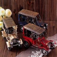 Free shipping! Handmade Vintage Metal Classic Car Childhood Memory Metal Home Decoration birthday  Art Gift  Antique imitation