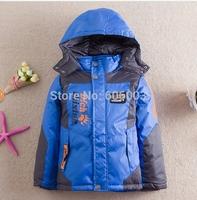 free shipping  2014 winter children  kids boy down jacket coat  winter outerwear boy coat