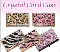 2014 Hot Free shipping(20pcs/lot) wholesale Fashion 100% handmade bling card holder